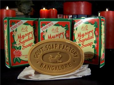 Le savon au santal de Mysore