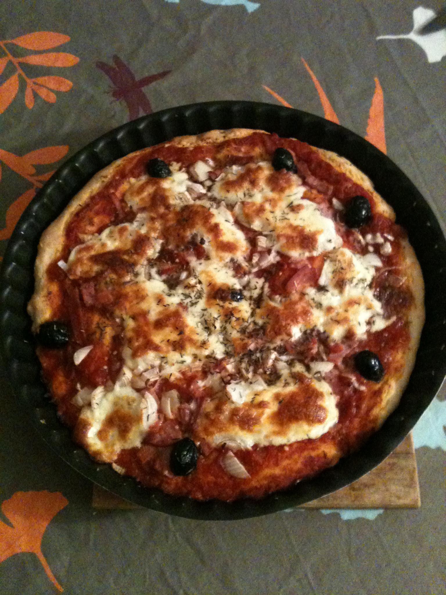 La pizza hyper facile