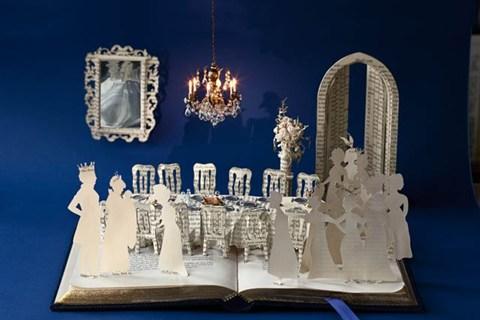 Les livres sculptures de Su Blackwell