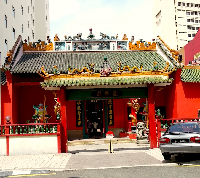 1guan di temple