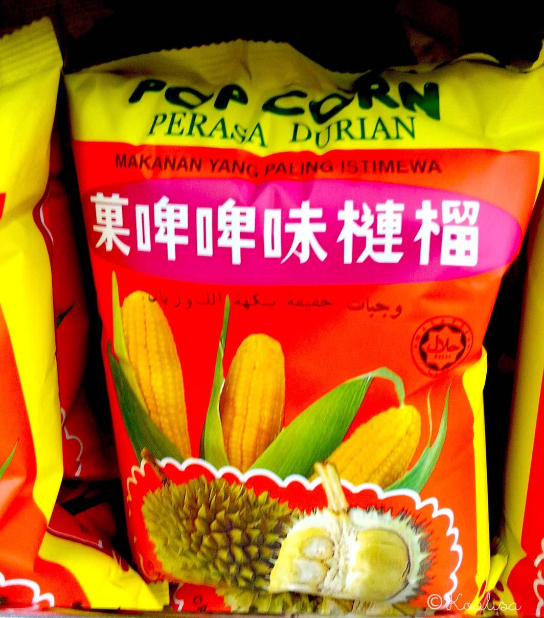 popcorn durian