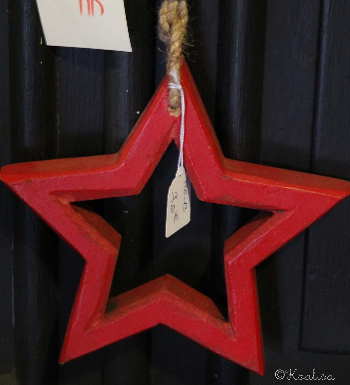 étoile bois