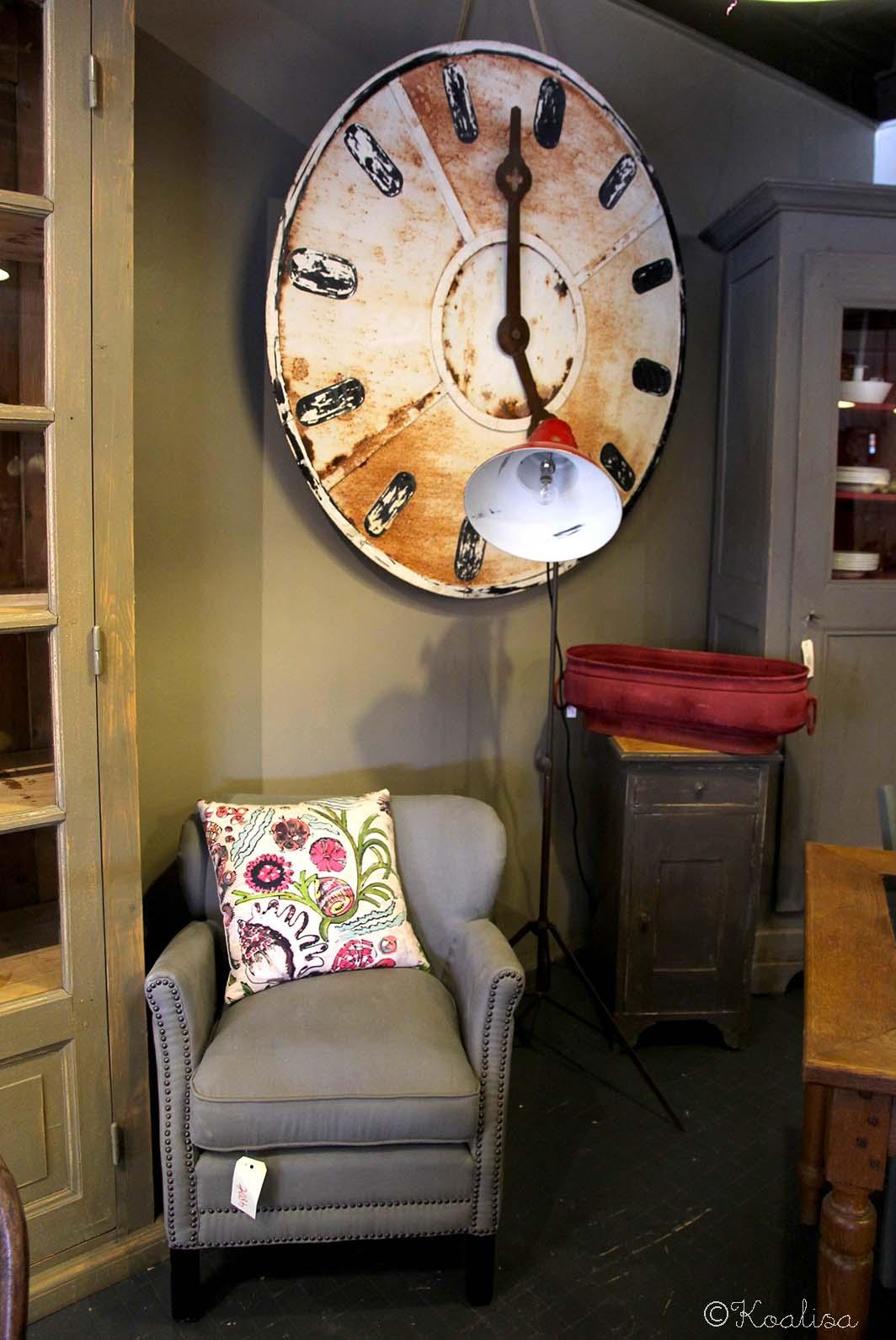 fauteuil horloge