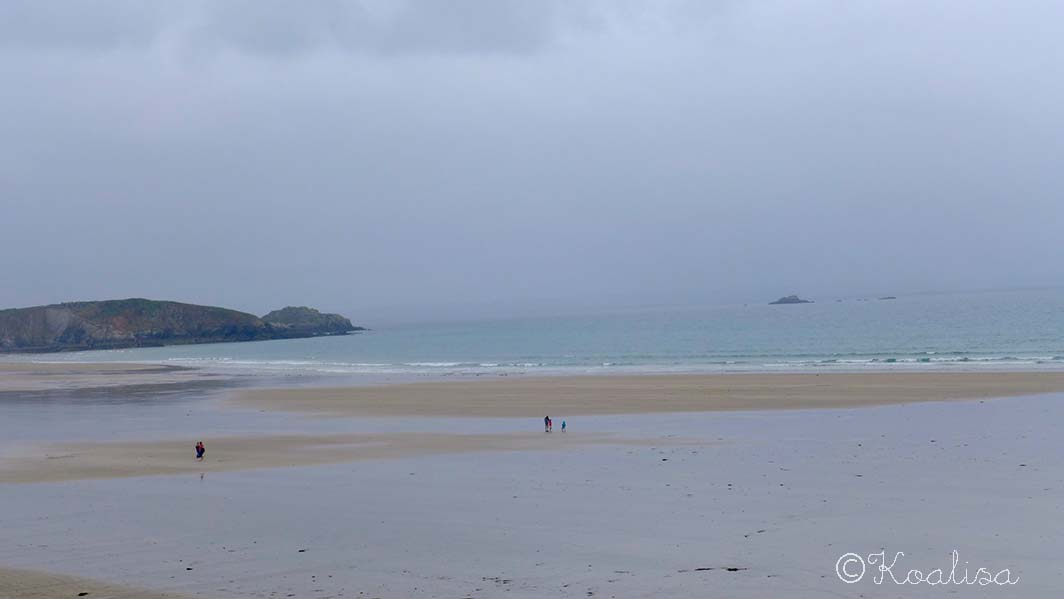 Les plages de l'Aber et de Pentrez