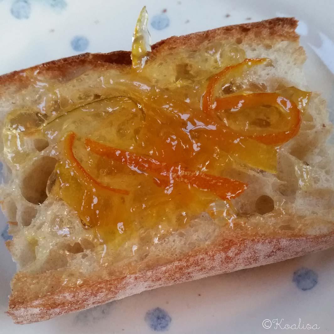 tartine marmelade