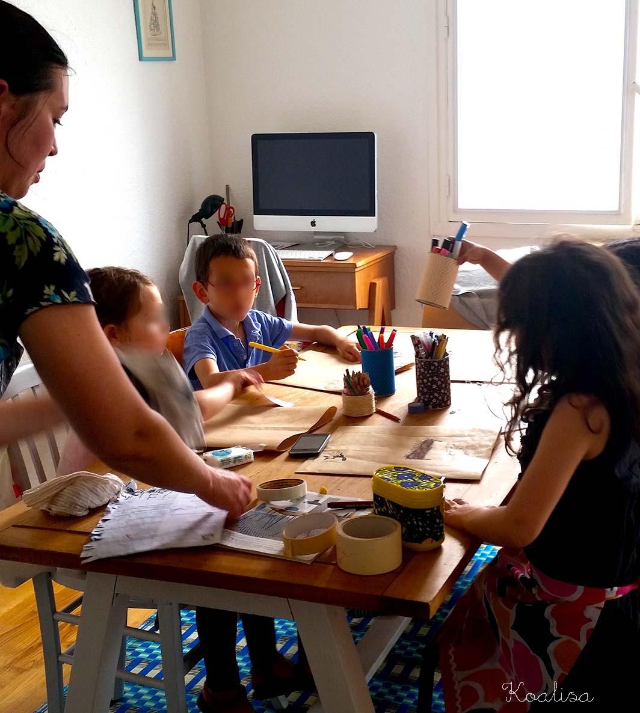 Un t-shirt sérigraphié pour la fête des Pères, avec Eloïse Scouarnec