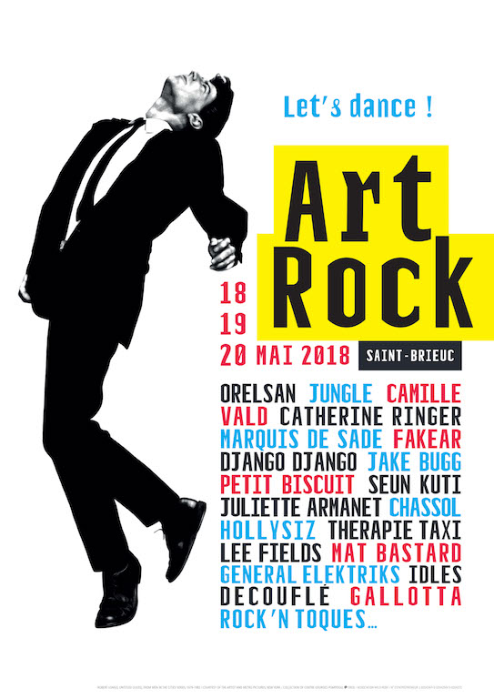 Le festival Art Rock 2018 à Saint- Brieuc