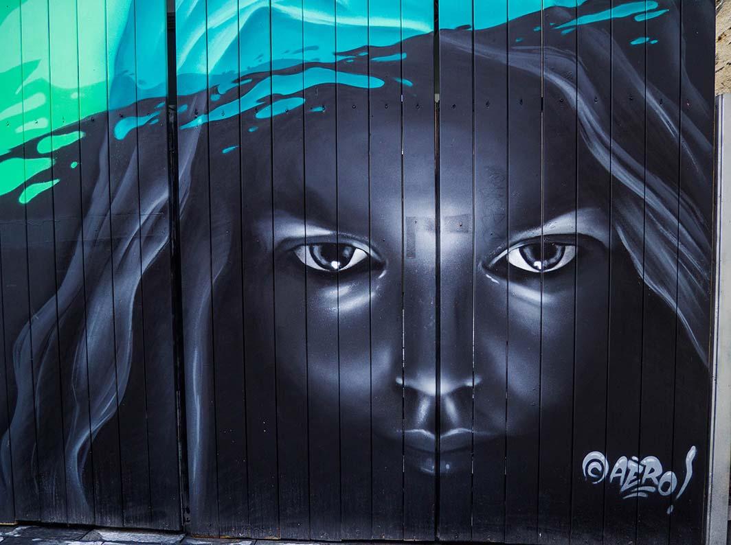 Art urbain, de Rennes à Lancieux