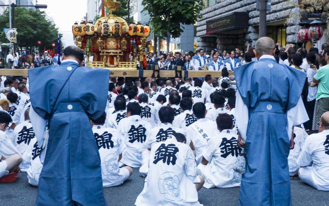 Le Gion Matsuri à Kyoto