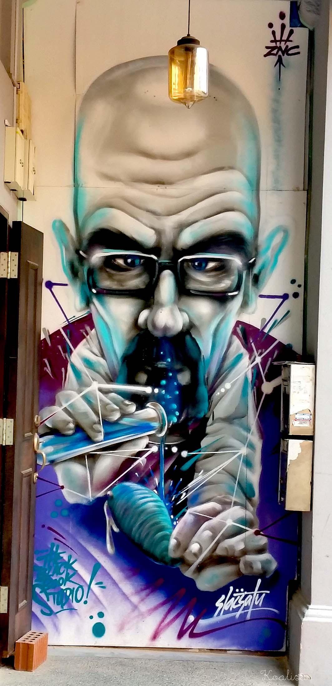 La photo du mois : street art