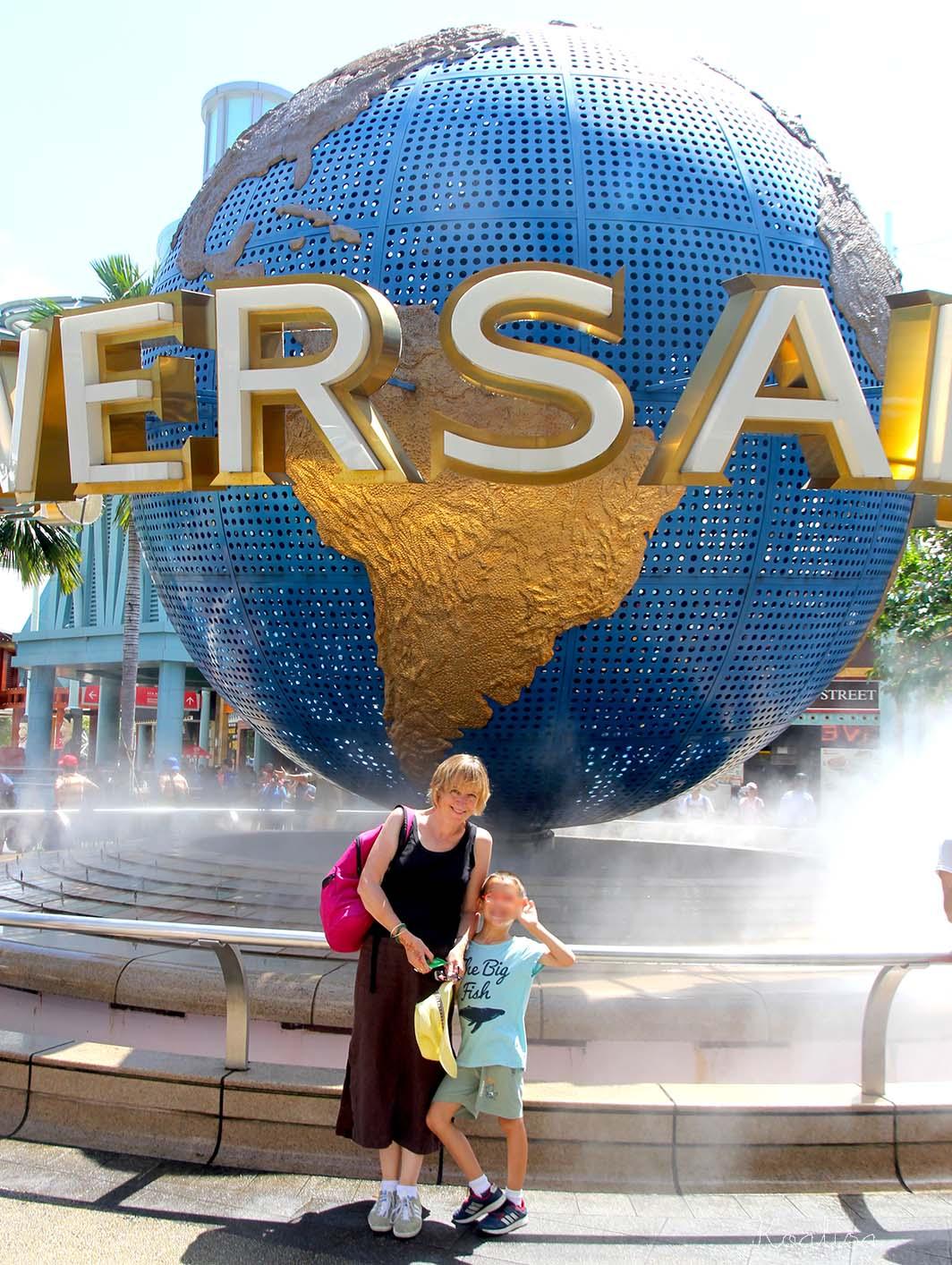 Le parc d'attractions Universal Studios à Singapour